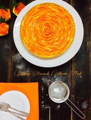 Mango and Coconut Mousse Tart..a Mother's Day Special