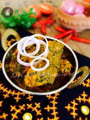 Methi Dahi Murgh/Chicken with Fenugreek and Yoghurt