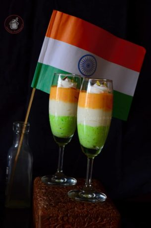 Tiranga Rabdi Mousse Delight for Independence Day
