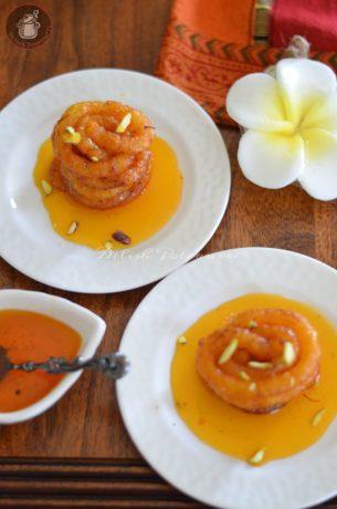Sweet Potato & Paneer jalebi