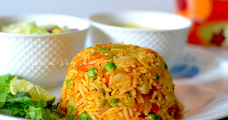 Mumbai Tawa Pulao…. a popular street food