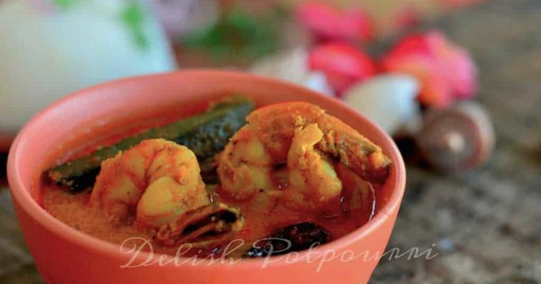 Goan style Prawn and Okra Curry….Sungta ani Bende kodi