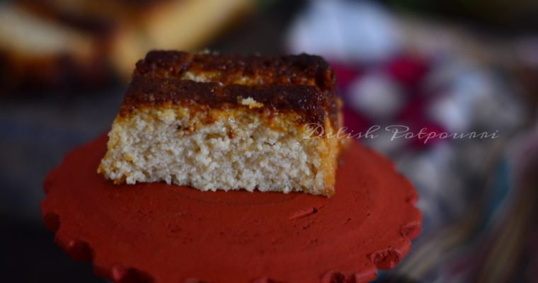 Chenna Poda…the king of Odia desserts