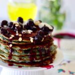 Blueberry Crumble Pancakes