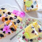 Eggless Lemon Blueberry Loaf