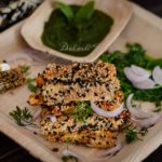 Tilwale Paneer/ Sesame coated Cottage Cheese Fingers