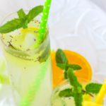 Tender Coconut and Chia seeds Lemonade